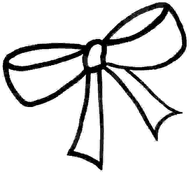 a big christmas coloring ribbon pages - photo #28
